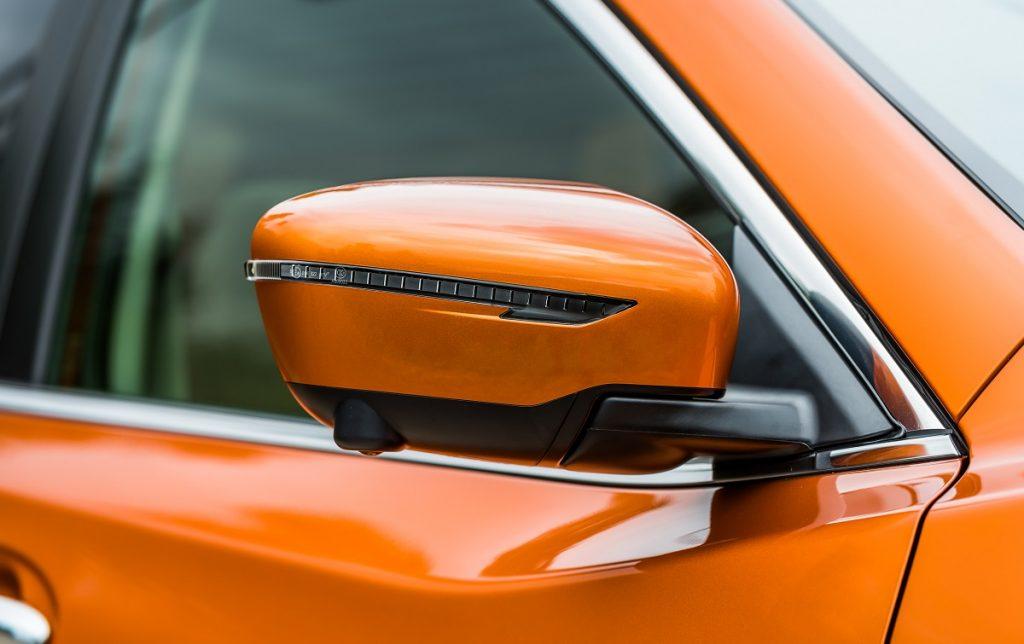 Detalle de la cámara del Nissan X-Trail