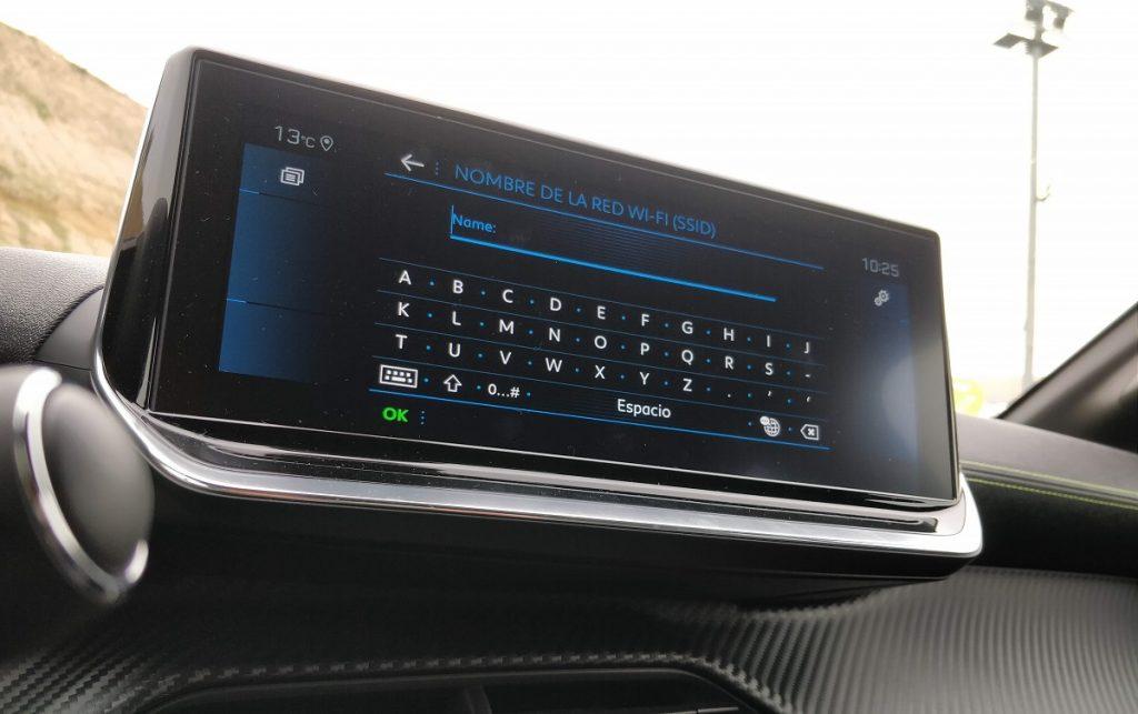 Sistema multimedia del Peugeot 208