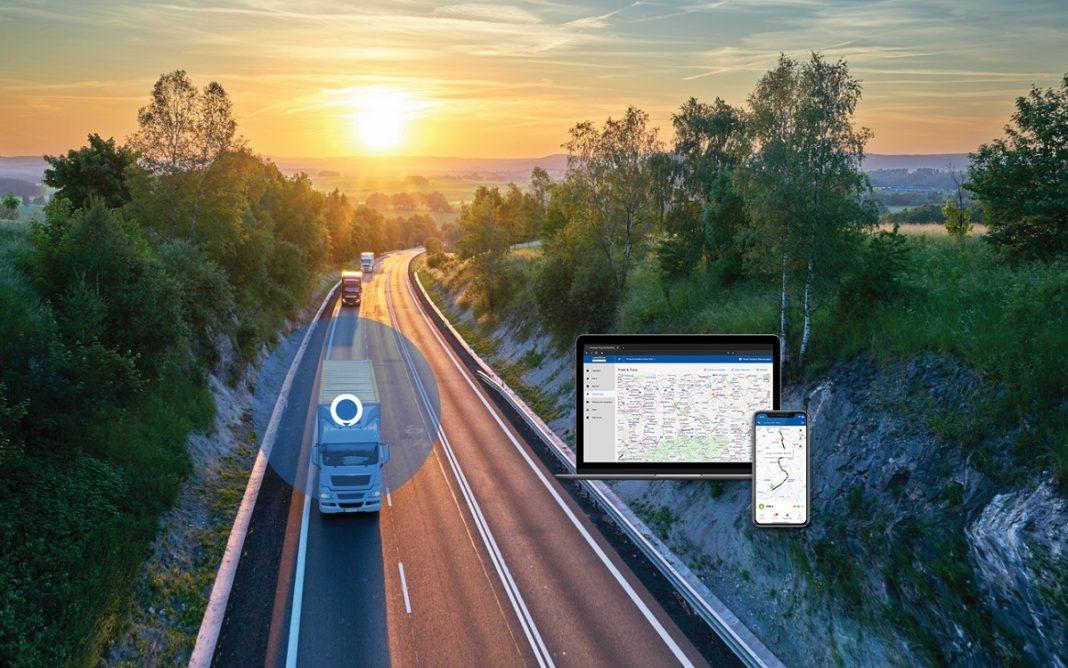 Imagen de la aplicación Goodyear Fleet Tracker
