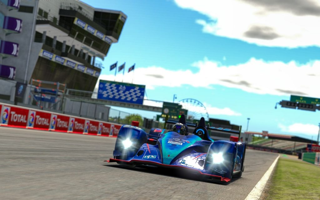 Imagen de las 24 Horas de Le Mans Virtual en iRacing