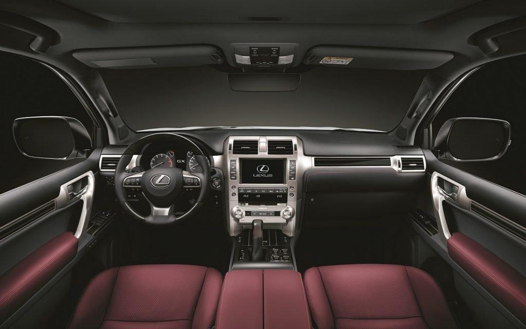 Interior del Lexus GX 460