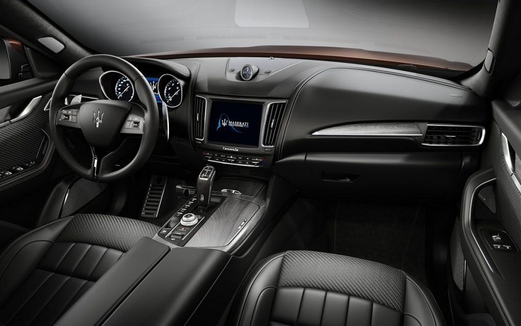 Imagen del interior del Maserati Levante