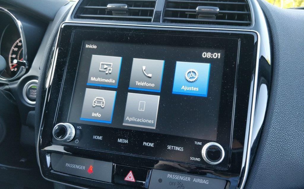 Imagen sistema multimedia del Mitsubishi ASX 5