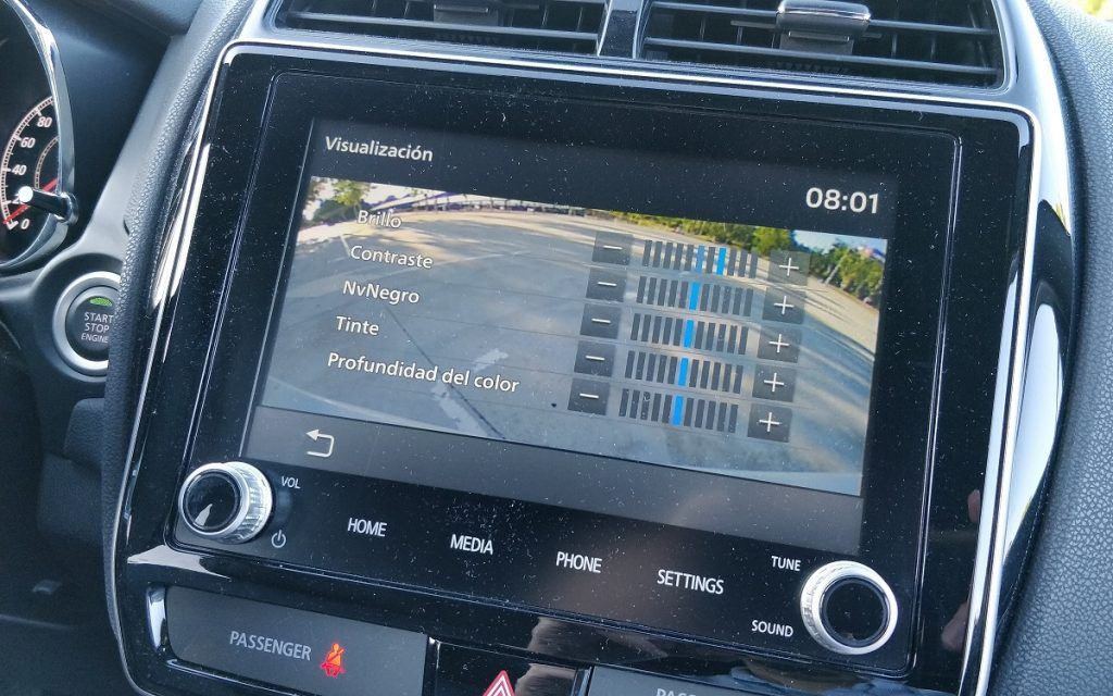 Imagen sistema multimedia del Mitsubishi ASX 3