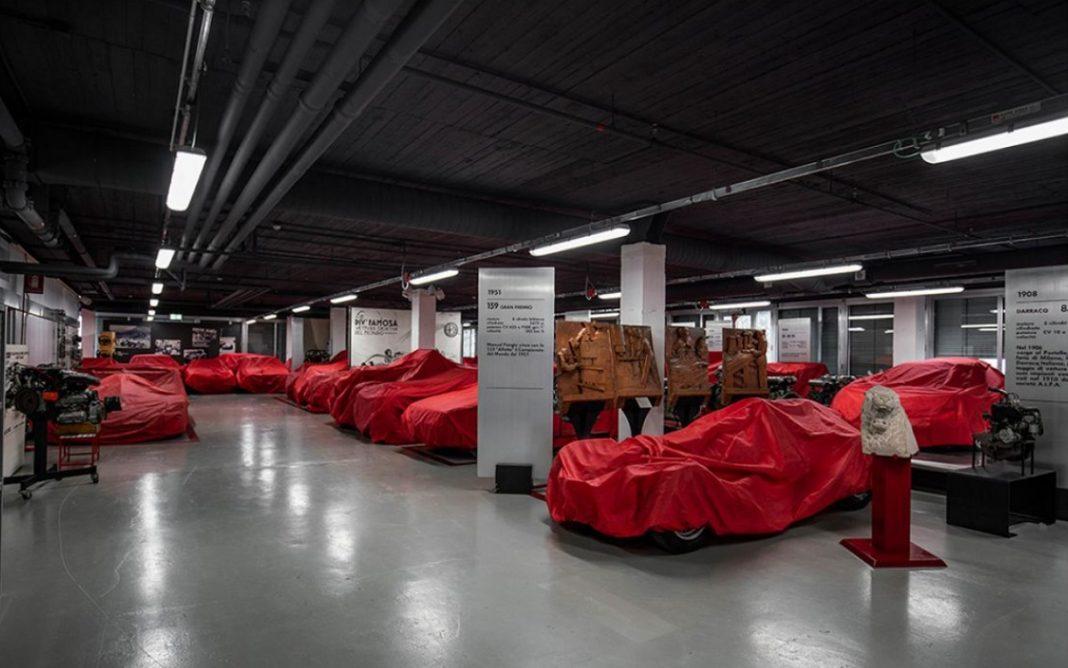 Imagen de la Colección del Museo Alfa Romeo