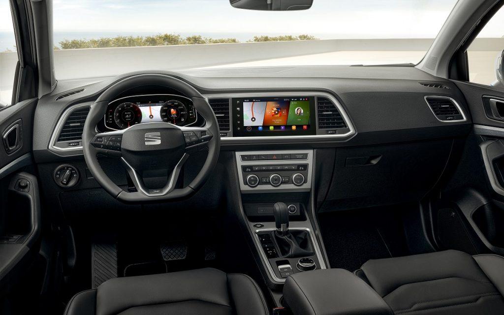 Imagen interior del Seat Ateca 2020