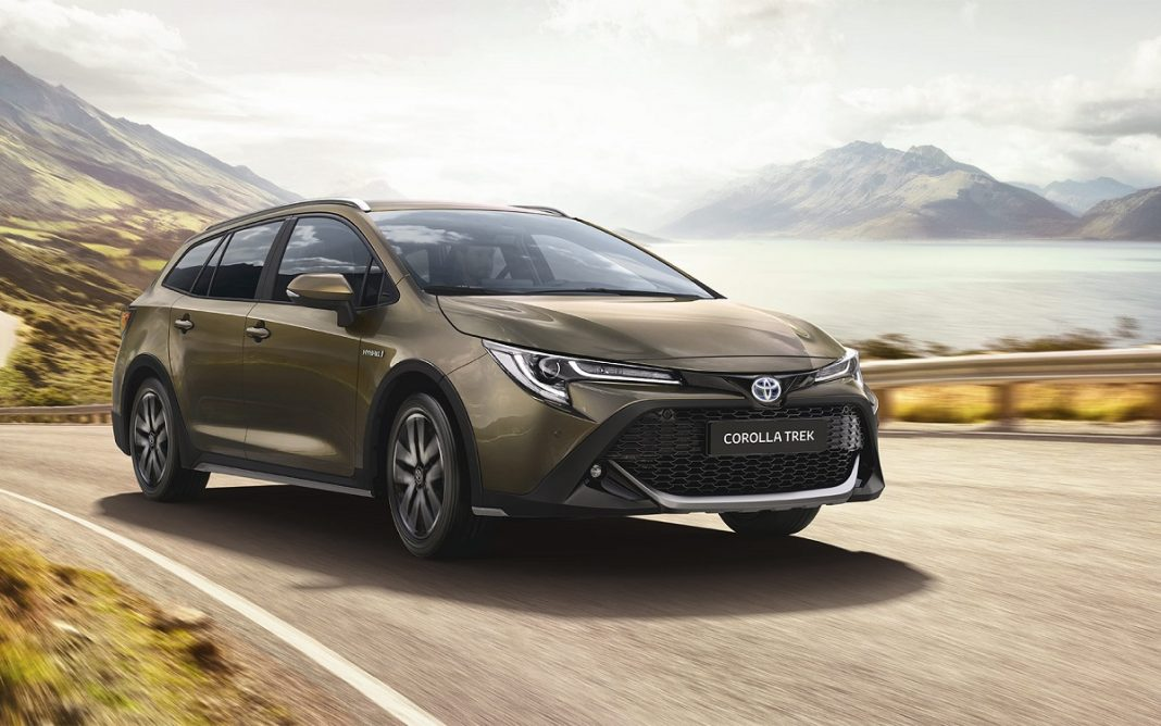 Imagen frontal del Toyota Corolla Trek