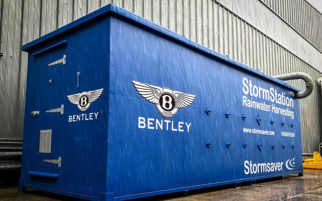 Imagen del contenedor de agua de Bentley