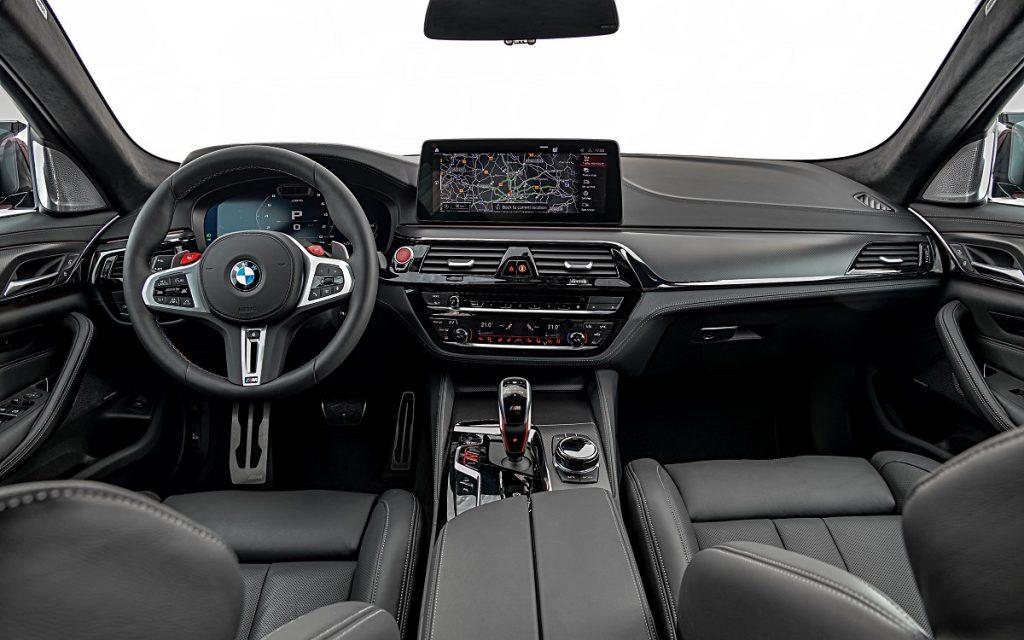 Imagen interior del BMW M5 2020