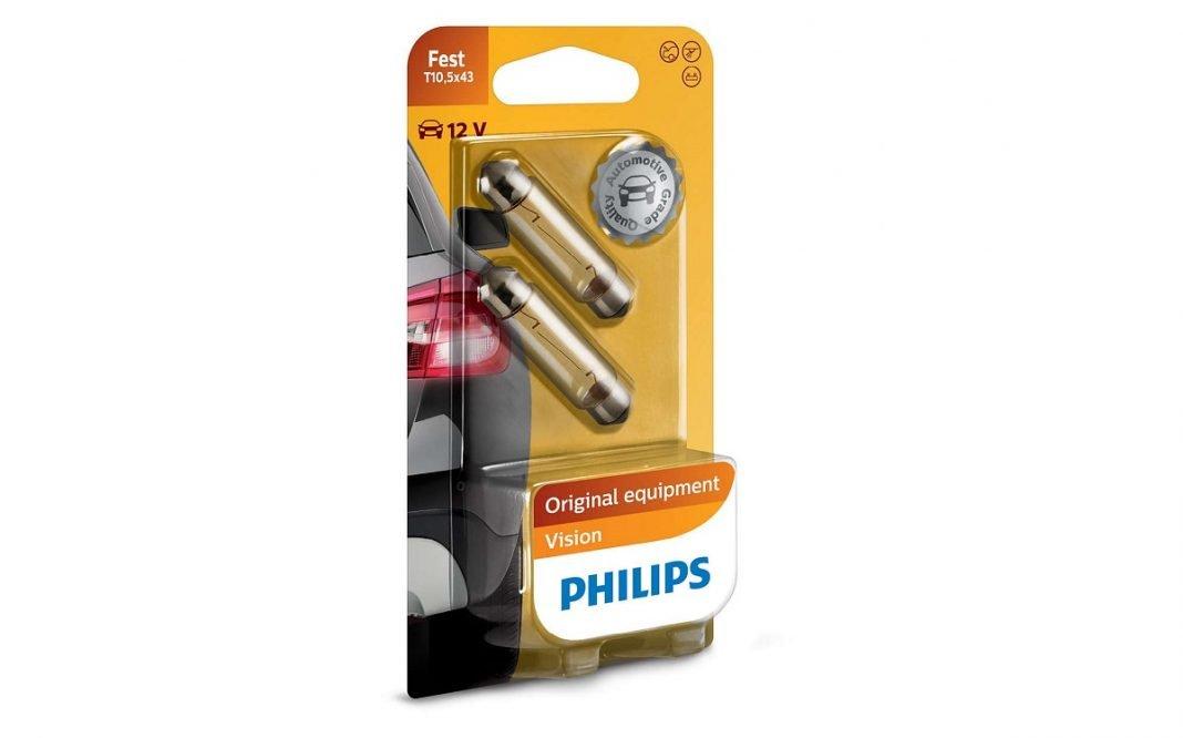 Imagen de un pack de bombillas de Philips