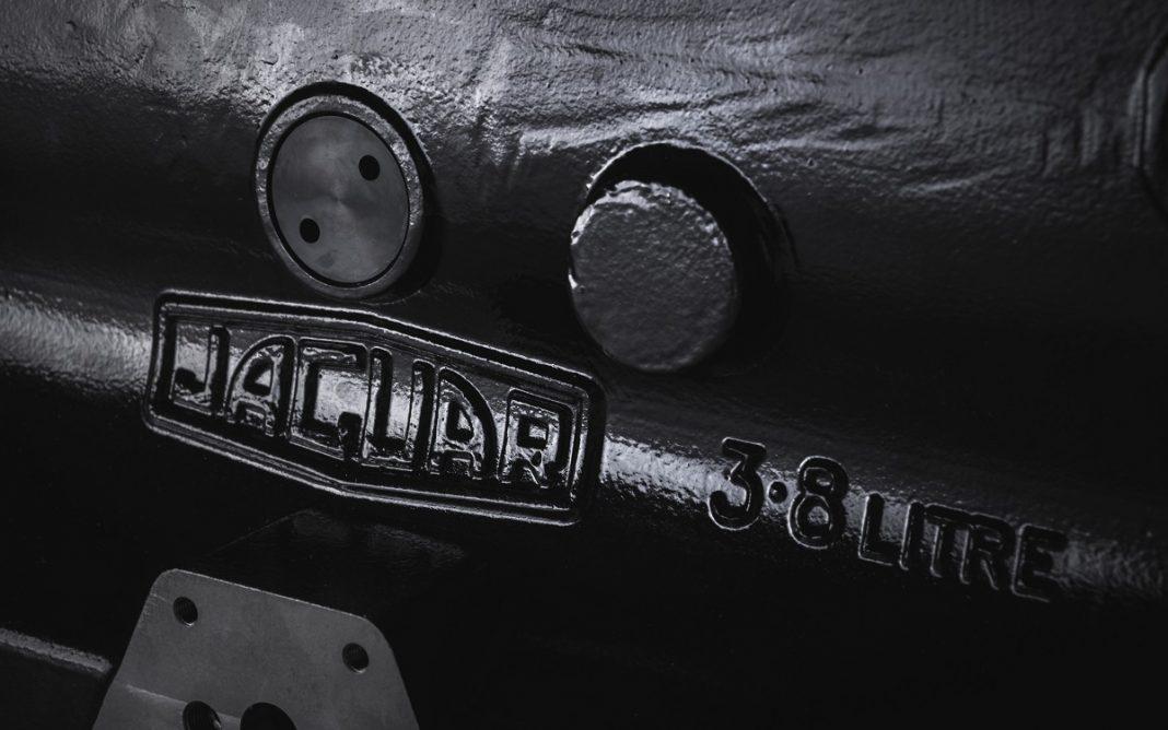 Detalle del bloque Jaguar Motor XK