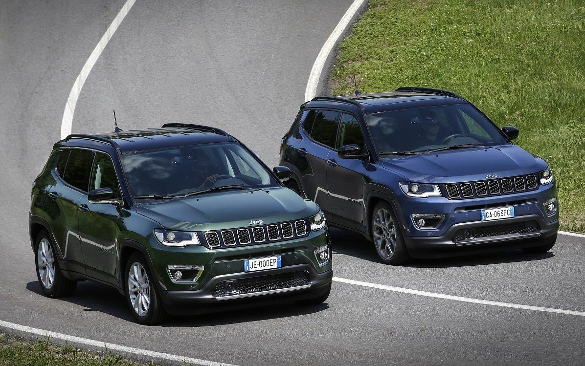 Imagen de los nuevos Jeep Compass 2020
