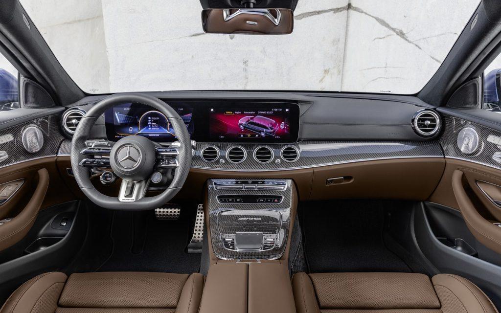 Mercedes AMG E63 S+ por dentro