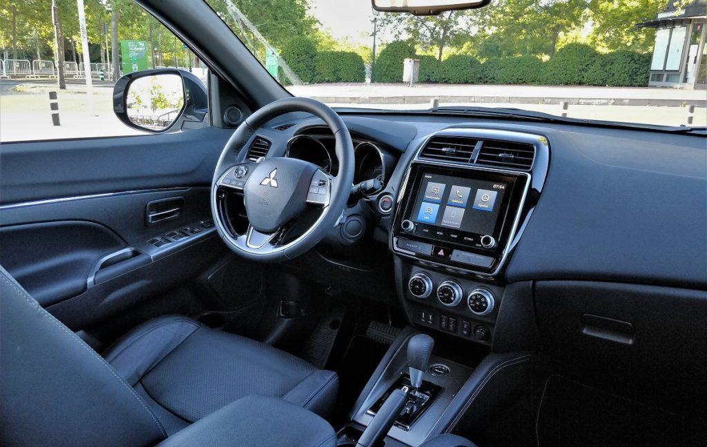 Imagen interior del Mitsubishi ASX 2020