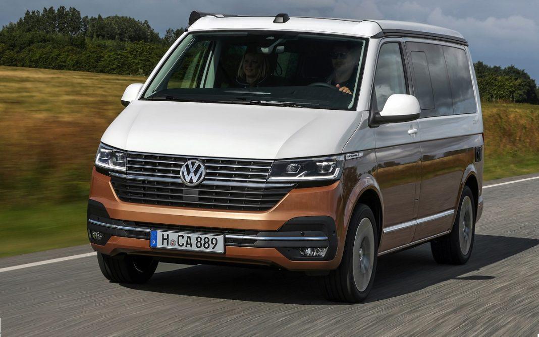 IMagen tres cuartos delantero VW California