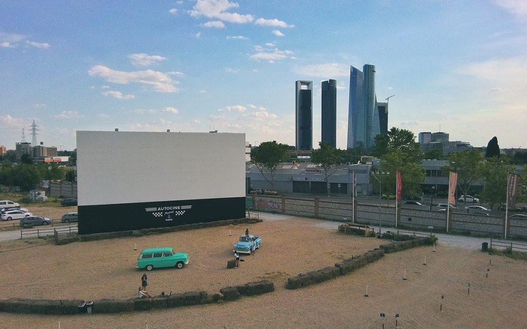 Imagen del Autocine Madrid RACE Centro