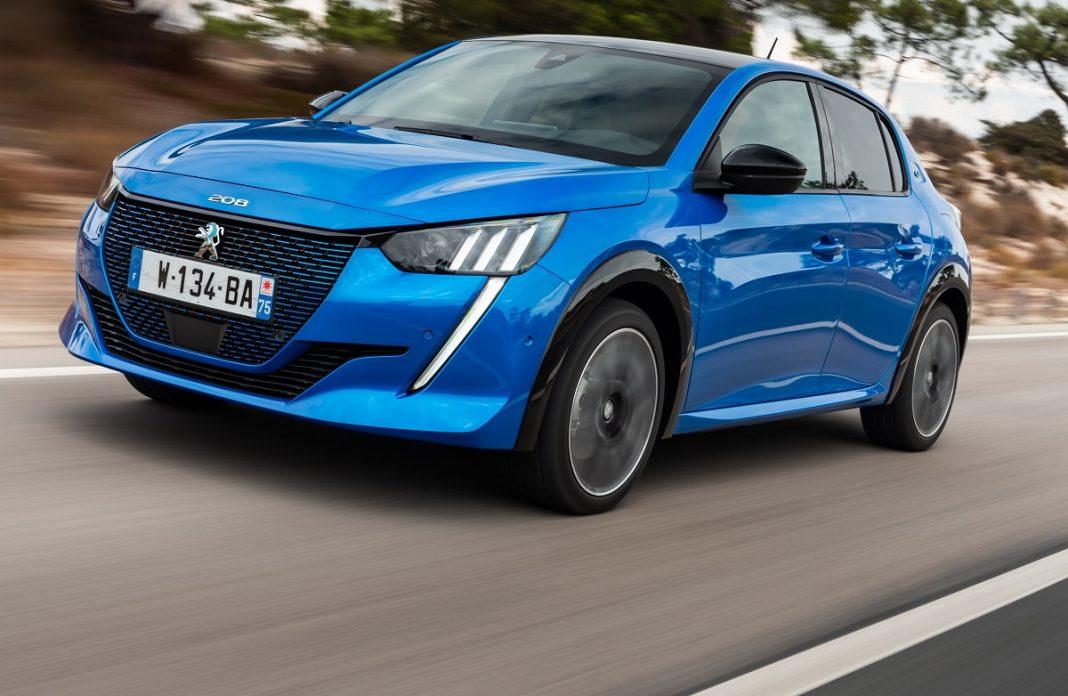 Imagen del Peugeot 208 eléctrico