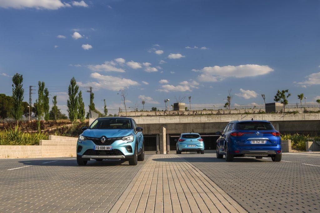 Imagen de la gama Renault E-Tech