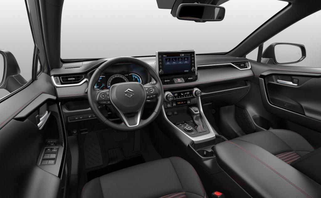 Imagen interior del Suzuki Across