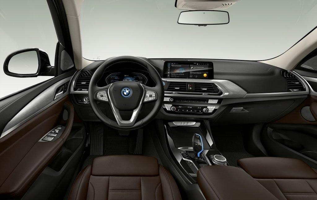 Imagen interior del BMW ix3