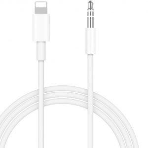Cable accesorio para conectar iPhone en coche