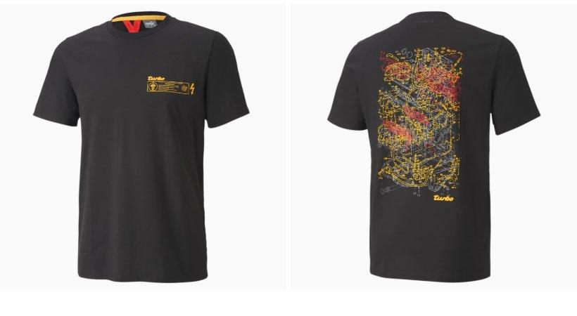 Porsche Legacy Graphic Men's Tee camiseta