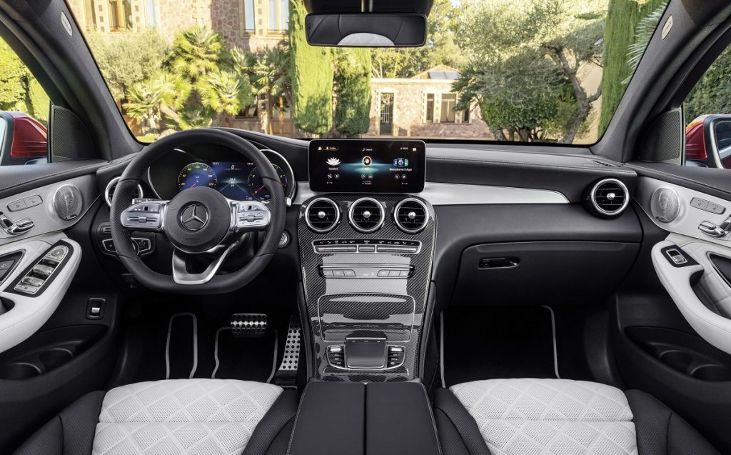 IMagen interior de un Mercedes GLC Coupé