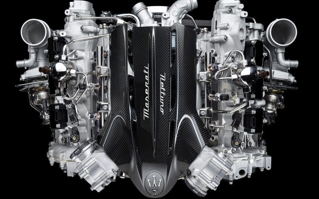 Imagen cenital de Nettuno, el Motor de Maserati