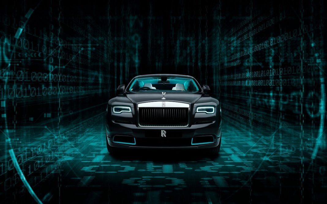 Imagen frontal del Rolls-Royce Wraith Kryptos