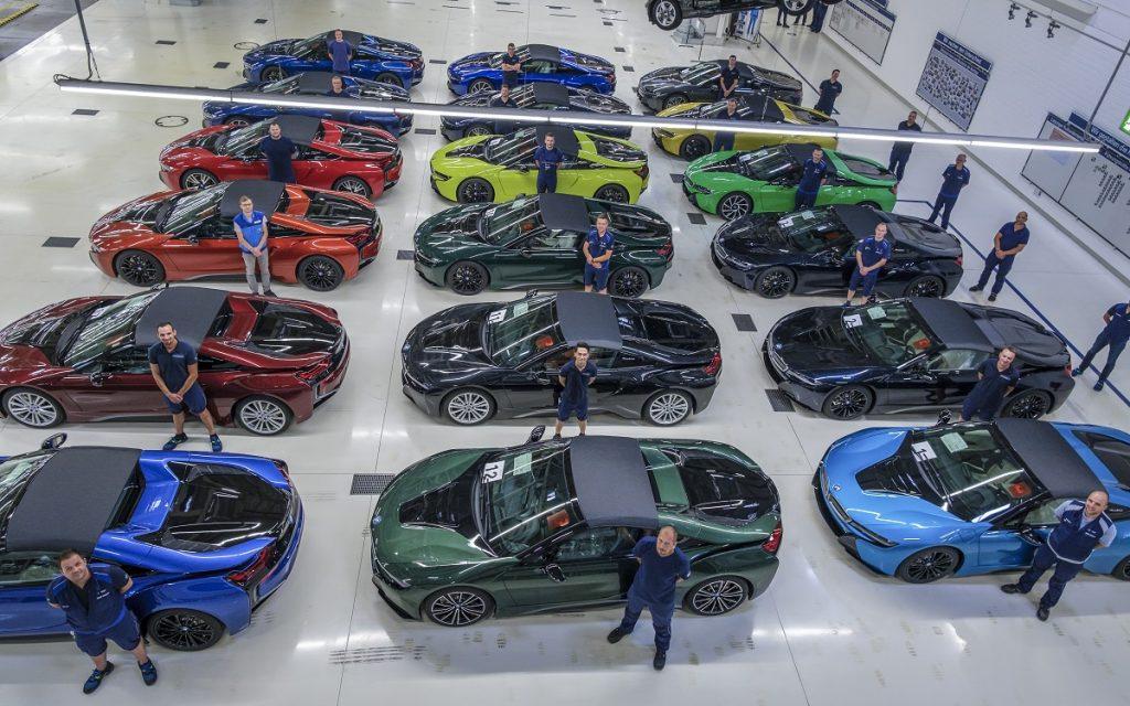 Foto de los Últimos BMW i8 con sus propietarios