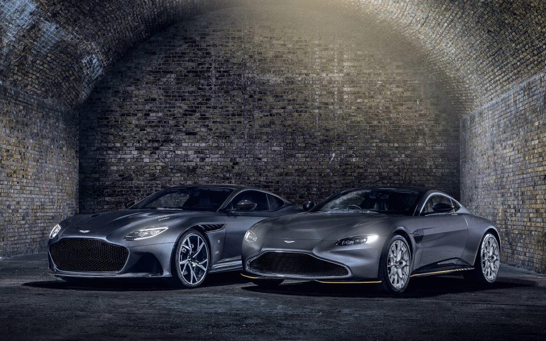 Imagen de las Aston Martin 007 Editions