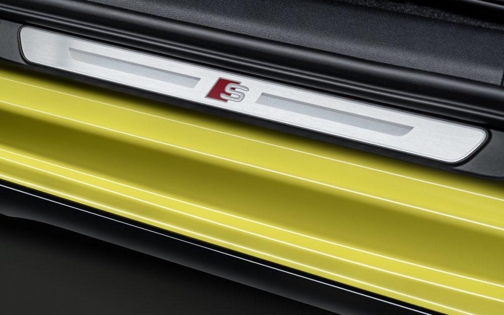 Detalles exteriores e interiores del Audi S3