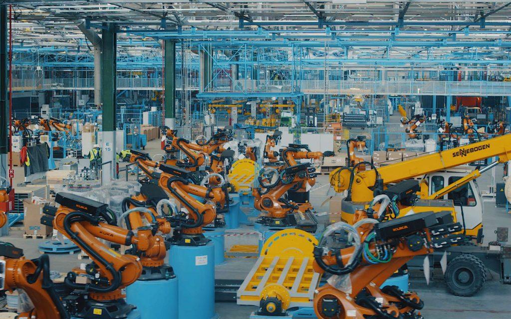 Fábrica Ford Rumanía robots