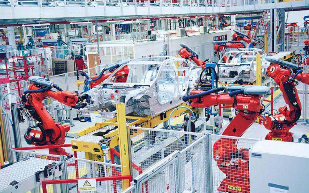 Imagen de la fábrica de aluminio de Jaguar Land Rover