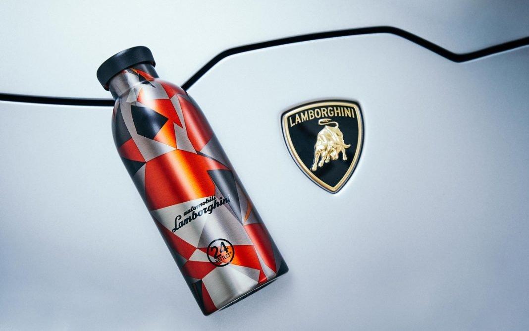 Imagen de la botella Lamborghini de Clima Bottle