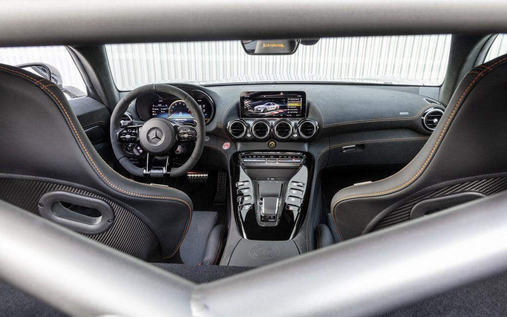 Interior del Mercedes AMG GT Black Series
