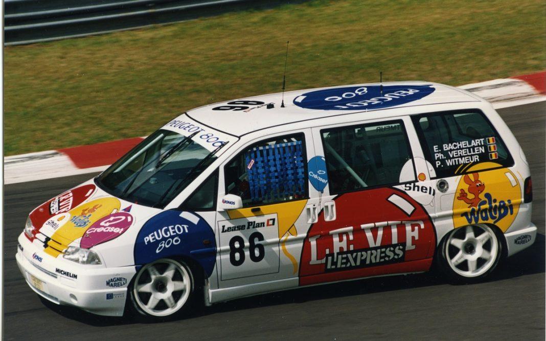 Imagen del Peugeot 806 en las 24h de Spa