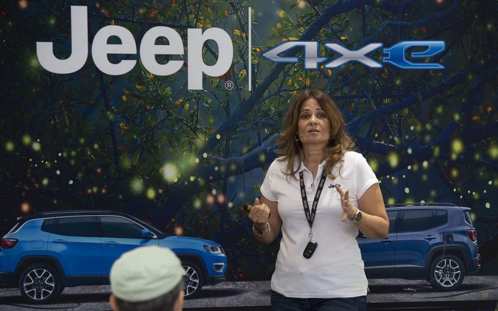 Imagen de la Presentación del Jeep Renegade 4xe