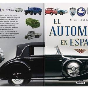Imagen del libro de la historia del automóvil en España
