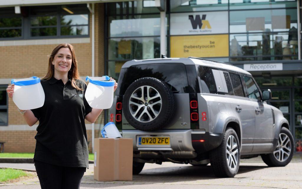 Imagen del material donado por Jaguar Land-Rover