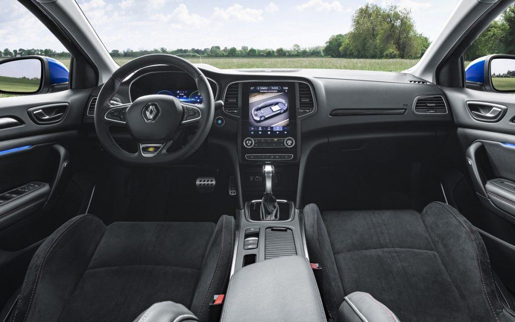Imagen interior del Renault Mégane híbrido enchufable