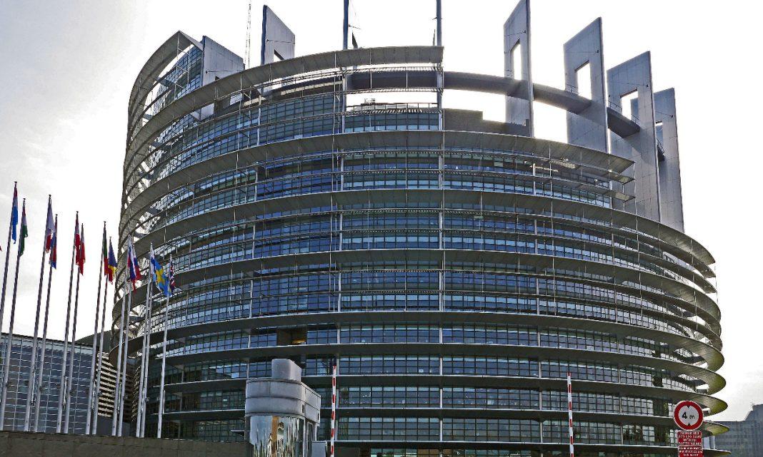 Imagen de la fachada del edificio del Parlamento Europeo