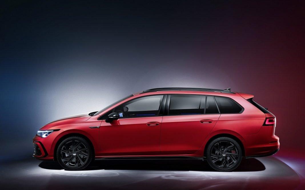 Imagen de perfil del nuevo VW Golf Variant