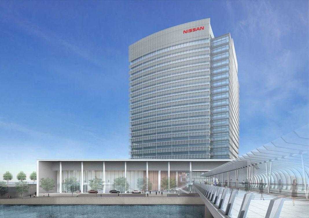Imagen de la futura sede de Nissan en Yokohama