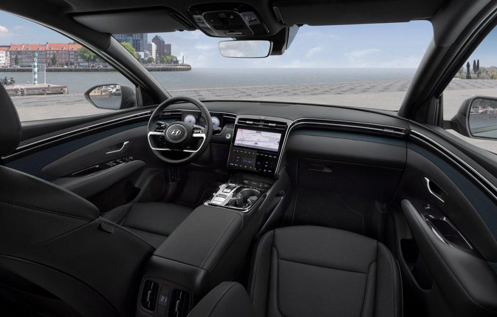 Imagen interior del Hyundai Tucosn 2021