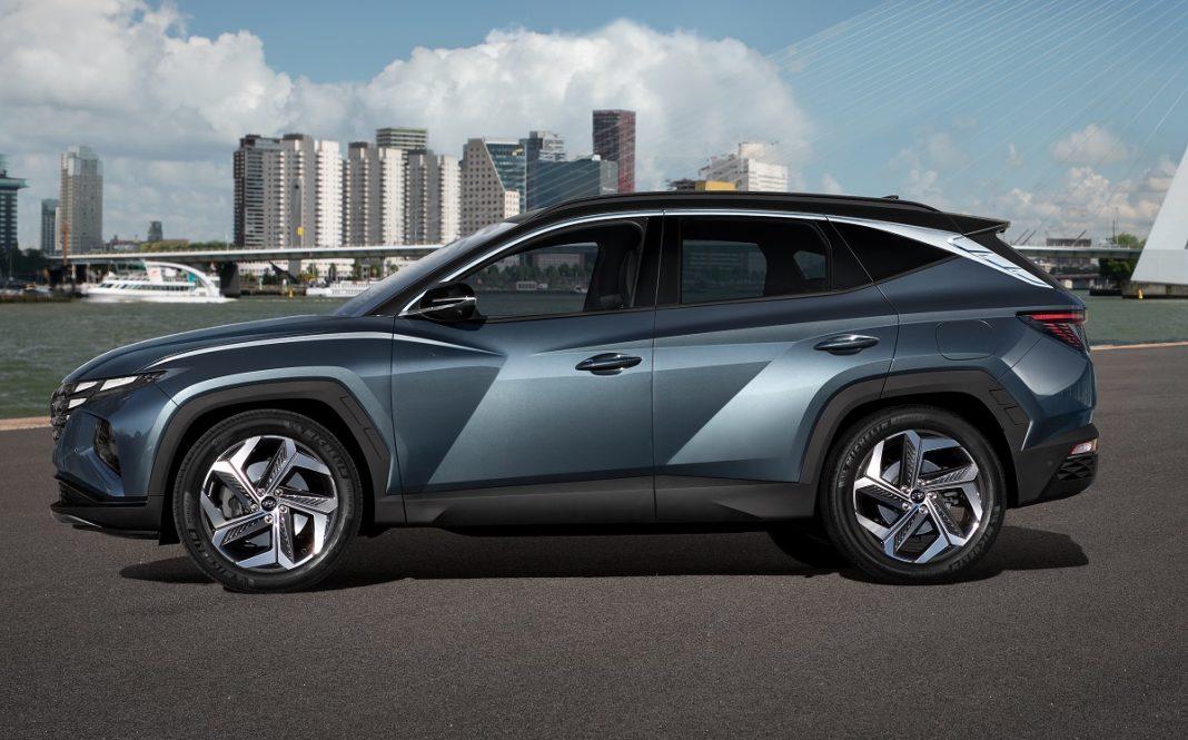 Imagen de perfil del nuevo Hyundai Tucson 2021