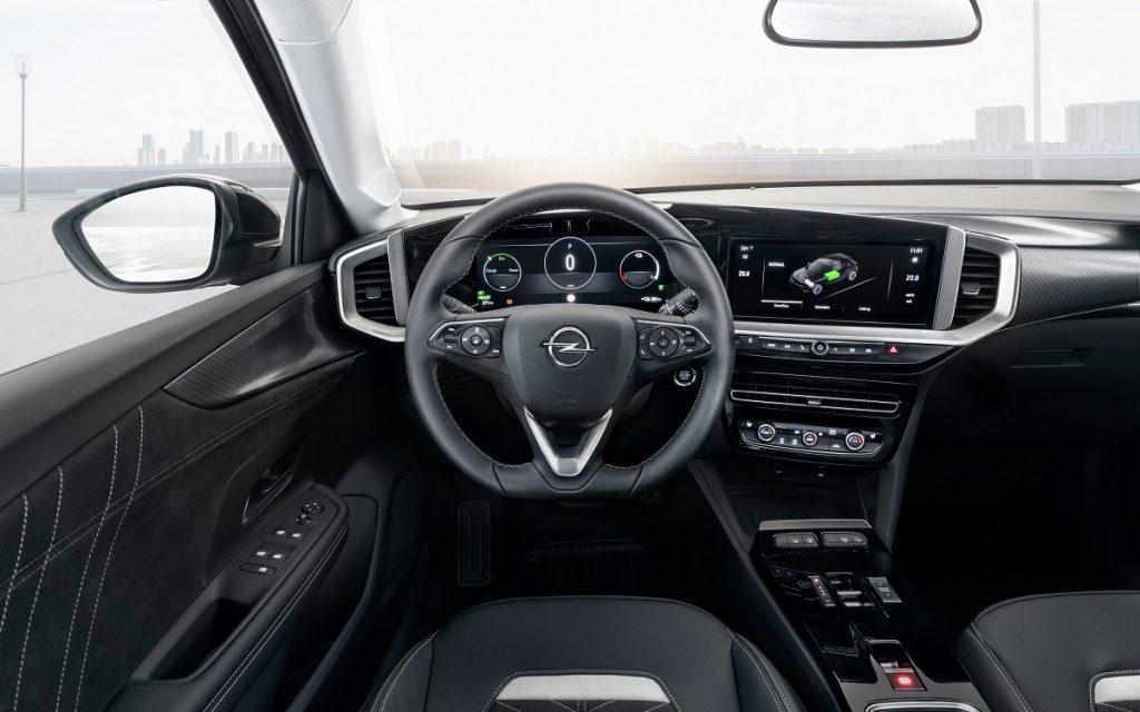 Imagen interior del Opel Mokka