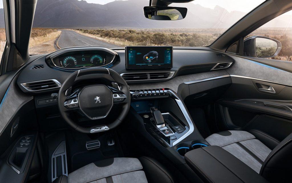 Imagen del salpicadero del nuevo Peugeot 3008 gama 2021