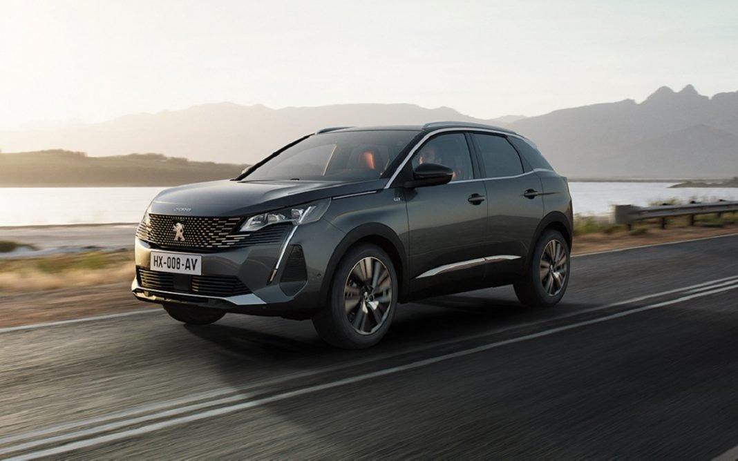 Imagen frontal del nuevo Peugeot 3008