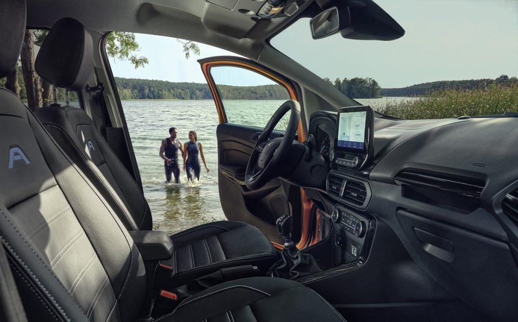 Imagen interior del nuevo Ford EcoSport Active